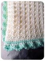 Baby blanket CU stitch