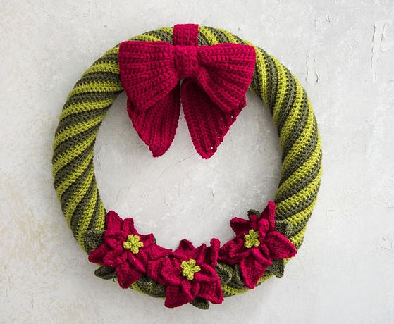Crochet Wreath 1