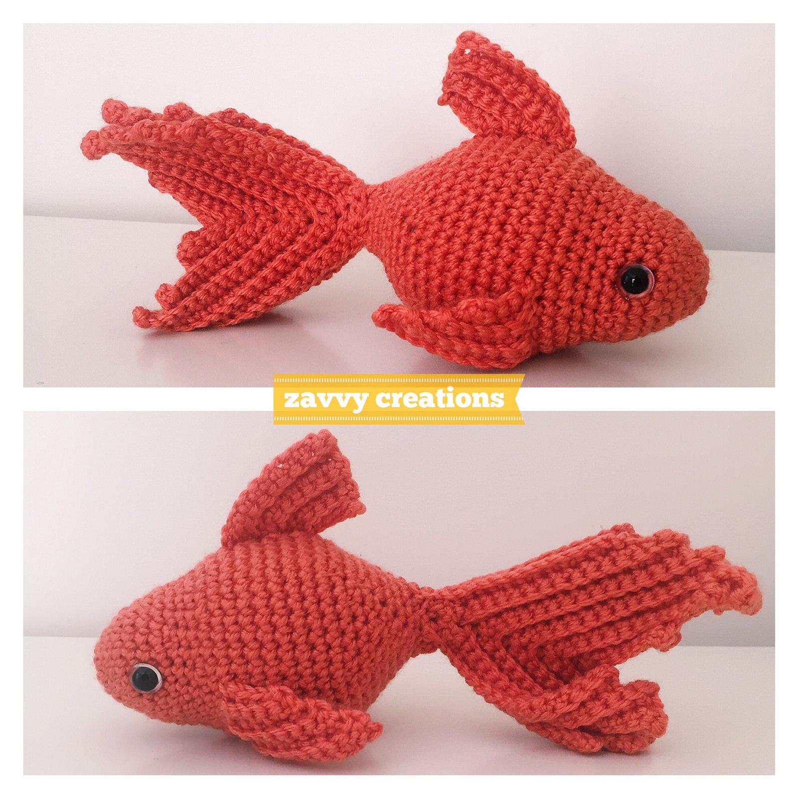 Little Fish Amigurumi Free Crochet Pattern – Crochetfuldiy.com   1600x1600